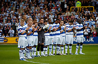 Photo: Leigh Quinnell.<br /> Queens Park Rangers v Southampton. Coca Cola Championship. 01/09/2007. QPR players clap to celebrate the life of player Ray Jones who died in a car crash.