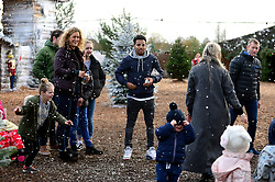 Korey Smith at the Bristol City and Bristol Rugby Christmas Party at Avon Valley Country Park - Photo mandatory by-line: Dougie Allward/JMP - 26/11/2017 - Avon Valley Country Park - Bristol, England -  v  - Bristol City and Bristol Rugby Christmas party