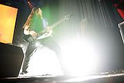 Dethklok performing on the Metalocalypse Tour at The Pageant on November 18, 2012.