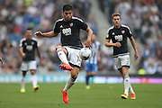 Brentford defender John Egan (14) during the EFL Sky Bet Championship match between Brighton and Hove Albion and Brentford at the American Express Community Stadium, Brighton and Hove, England on 10 September 2016.