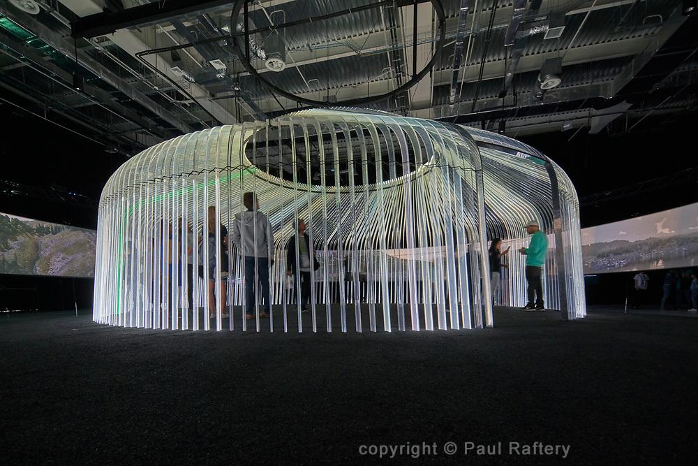 British Pavilion Expo 2017 Astana, Kazakhstan<br /> Architect Asif Khan