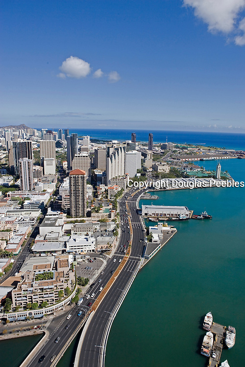 Downtown Honolulu, Oahu, Hawaii<br />