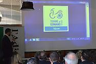 Presentazione dei Campionati Italiani di Ciclismo su Strada Esordienti e Allievi 9-10 luglio 2016 Terme di Comano,Parla il sindaco di Fiavè Angelo Zambotti,Trento 18 marzo 2016,© foto Daniele Mosna