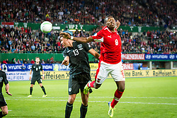 10.09.2013, Ernst Happel Stadion, Wien, AUT, FIFA WM Qualifikation, Oesterreich vs Irland, Rueckspiel, im Bild Jonathan Walters, (IRL, #13), David Alaba, (AUT, #8)// during the FIFA World Cup Qualifier second leg Match between Austria and Ireland at the Ernst Happel Stadium in Vienna, Austria on 2013/09/10. EXPA Pictures © 2013, PhotoCredit: EXPA/ Sebastian Pucher