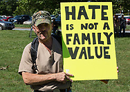 Catawba Valley Citizens Against Hate protest of Providence Road Baptist Church
