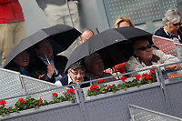 Tennis supporters during Madrid Open Tennis 2017 match. May 11, 2017.(ALTERPHOTOS/Acero)