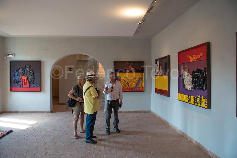 In the Casa Ortega museum
