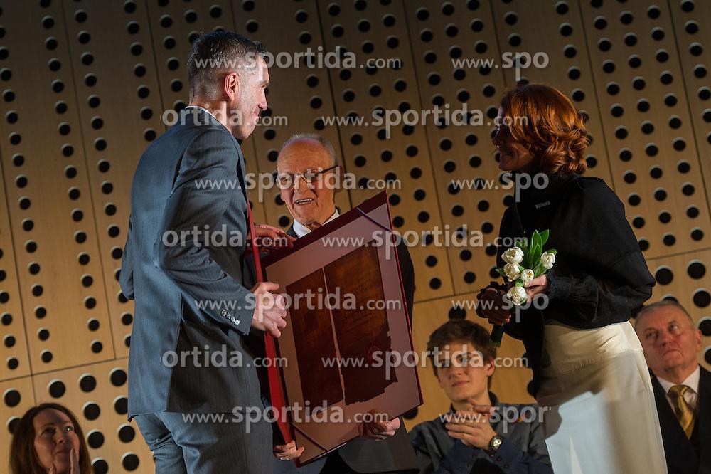 Srecko Katanec at 52th Annual Awards of Stanko Bloudek for sports achievements in Slovenia in year 2016 on February 14, 2017 in Brdo Congress Center, Brdo, Ljubljana, Slovenia.  Photo by Martin Metelko / Sportida