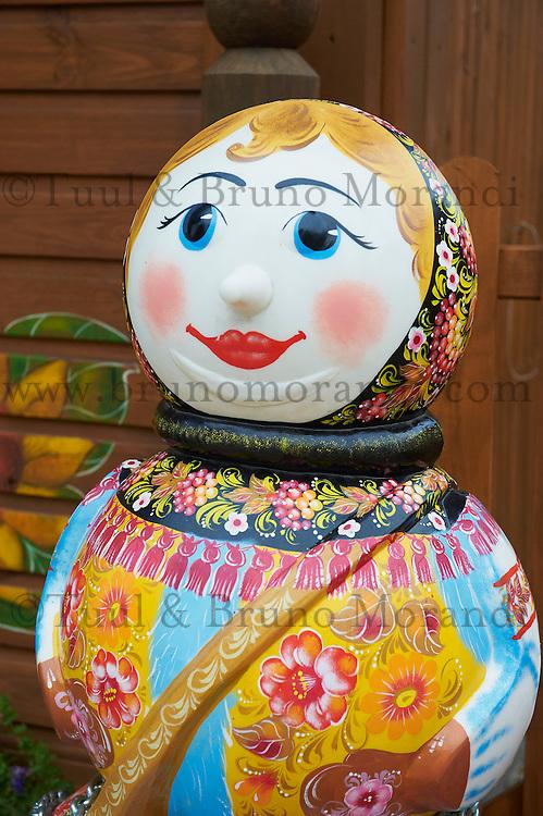 Russie, Souzdal (Suzdal), classé Patrimoine Mondial par UNESCO, ancien centre culturel et religieux faisant partie de l'Anneau d'Or, poupee Russe  // Russia, Rossiya, Vladimir Oblast, Golden Ring, Suzdal, Unesco world heritage