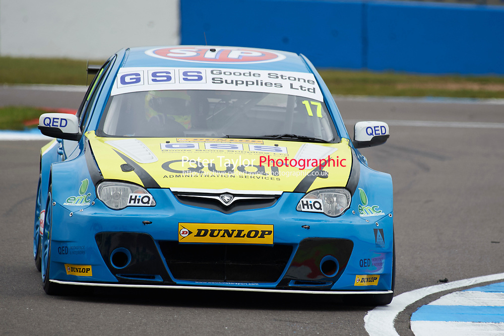 #17 Daniel Welch GBR Goodestone Racing Proton Persona during Media Day Test Session as part of the BTCC Media Day at Donington Park, Melbourne, Leicestershire, United Kingdom. March 22 2016. World Copyright Peter Taylor/PSP. Copy of publication required for printed pictures.  Every used picture is fee-liable.