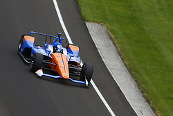 May 18, 2018 - Indianapolis, Indiana, United States of America - SCOTT DIXON (9) of New Zealand brings his car through turn one during ''Fast Friday'' practice for the Indianapolis 500 at the Indianapolis Motor Speedway in Indianapolis, Indiana. (Credit Image: © Chris Owens Asp Inc/ASP via ZUMA Wire)