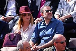 May 19, 2019 - Roma, Italia - Foto Alfredo Falcone - LaPresse19/05/2019 Roma ( Italia)Sport TennisRafael Nadal (esp) vs Novak Djokovic (srb)Internazionali BNL d'Italia 2019 Nella foto: Fausto BrizziPhoto Alfredo Falcone - LaPresse19/05/2019 Roma (Italy)Sport TennisRafael Nadal (esp) vs Novak Djokovic (srb)Internazionali BNL d'Italia 2019In the pic: Fausto Brizzi (Credit Image: © Alfredo Falcone/Lapresse via ZUMA Press)