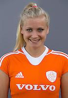 UTRECHT - Lisanne de Lange. Jong Oranje meisjes -21 voor EK 2014 in Belgie (Waterloo). COPYRIGHT KOEN SUYK