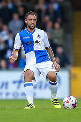 Peter Hartley of Bristol Rovers in action - Rogan Thomson/JMP - 11/08/2017 - FOOTBALL - Memorial Stadium - Bristol, England - Bristol Rovers v Cardiff City - EFL Cup First Round.