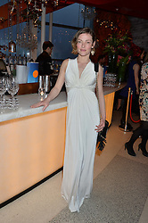 CAMILLA RUTHERFORD at the OMEGA 100 days to Rio Olympics VIP Dinner at Sushi Samba, Heron Tower, 110 Bishopsgate, City of London on 27th April 2016.