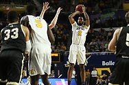 February 23, 2018 - Johnson City, Tennessee - Freedom Hall: ETSU forward David Burrell (2)<br /> <br /> Image Credit: Dakota Hamilton/ETSU