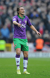 Bristol City's Luke Ayling - Photo mandatory by-line: Dougie Allward/JMP - Mobile: 07966 386802 - 15/11/14 - SPORT - Football - Swindon - The County Ground - Swindon Town v Bristol City - Sky Bet League One