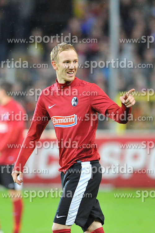 10.11.2012, Mage Solar Stadion, Freiburg, GER, 1. FBL, SC Freiburg vs Hamburger SV, 11. Runde, im Bild Jan ROSENTHAL (#8, SC Freiburg) // during the German Bundesliga 11th round match between SC Freiburg and Hamburger SV at the Mage Solar Stadium, Freiburg, Germany on 2012/11/10. EXPA Pictures © 2012, PhotoCredit: EXPA/ Eibner/ Nils Fabisch..***** ATTENTION - OUT OF GER *****