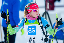 Anja Erzen of Slovenia during Slovenian National Cup in Biathlon, on December 30, 2017 in Rudno polje, Pokljuka, Slovenia. Photo by Ziga Zupan / Sportida