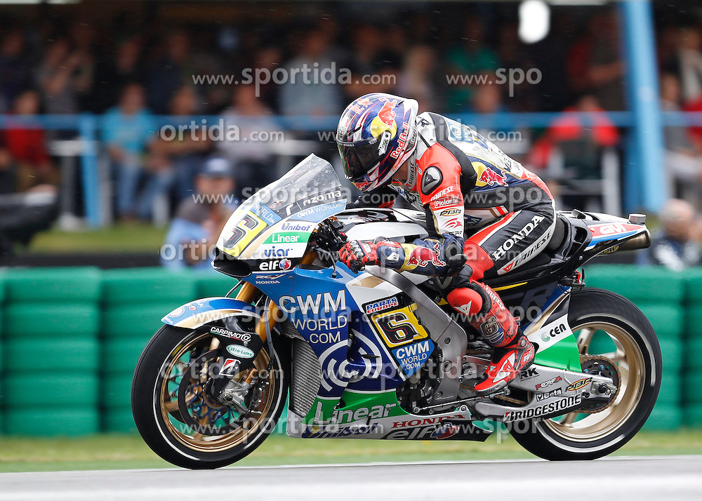 28.06.2014, TT Circuit, Assen, NED, MotoGP, Assen, im Bild 6 Stefan Bradl // during the MotoGP Iveco TT Assen at the TT Circuit in Assen, Netherlands on 2014/06/28. EXPA Pictures &copy; 2014, PhotoCredit: EXPA/ Eibner-Pressefoto/ FOTO-SPO_AG<br /> <br /> *****ATTENTION - OUT of GER*****