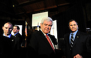 Photo By Michael R. Schmidt.Republician Presidential candidate Newt Gingrich at a rally in Elgin, IL 2012.