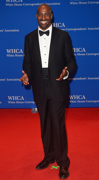 Van Jones arrives for the White House Correspondents' Association (WHCA) dinner in Washington, D.C., on Saturday, April 29, 2017 (Photo by Riccardo Savi)  *** Please Use Credit from Credit Field ***