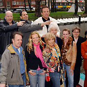 Presentatie Unicef CD Amsterdam, groepsfoto