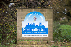 © Licensed to London News Pictures. 30/10/2017. Northallerton, UK. GV shows Northallerton, North Yorkshire, where two boys aged 14 have been arrested by counter terror police on suspicion of preparing an act of terrorism. Photo credit: Andrew McCaren/LNP