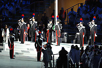 Photo: Catrine Gapper.<br /> Winter Olympics, Turin 2006. Opening Ceremony. 10/02/2006.