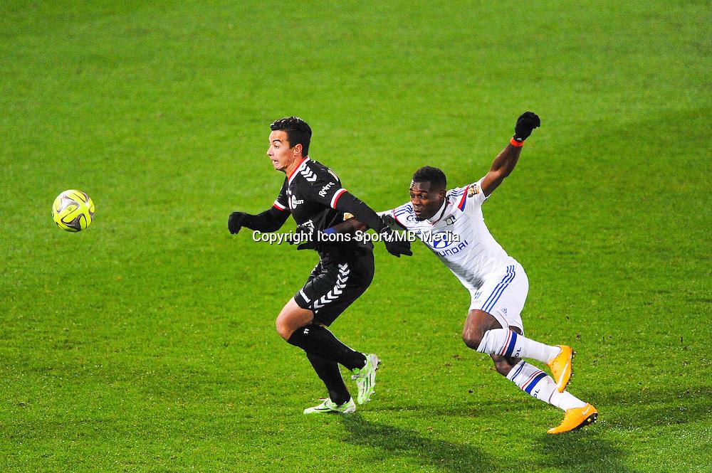 Diego RIGONATO  - 04.12.2014 - Lyon / Reims - 16eme journee de Ligue 1  <br /> Photo : Jean Paul Thomas / Icon Sport
