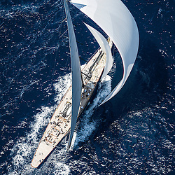 In 1930 Harold Vanderbilt achieved the pinnacle of yacht racing success by defending the America's Cup in the J-class 'Enterprise'. His victory put him on the cover of the September 15 1930, issue of Time magazine. In 1934 he faced a dangerous challenger in Endeavour that he actually challenged with Rainbow.<br /> <br /> Vanderbilt contacted Sparkman & Stephens to discuss the possibility of a new J Yacht under the Universal Rule. It was agreed that Starling Burgess and Olin Stephens would each present four designs and Vanderbilt funded the operation. The project that would eventually produce 'Ranger' and 'Lionheart' had started.<br /> <br /> Starling Burgess and Olin Stephens produced four designs for Vanderbilt; Models 77 A to F and two combinations. Models were built on a scale 1/24 and for the first time those models were tested in towing-tanks. When the trials were finished, the team concluded that 77-C either outperformed its rivals or came very close to the best.<br /> <br /> The selected model 77-C was used to built 'Ranger', the first 'Super-J'. The achievements of 'Ranger' have been exceptional. She sailed thirty-four times and won thirty-two times.<br /> <br /> 'Ranger' was scrapped in 1941 but was reborn in the form of a replica in summer 2003<br /> <br /> Fast forward to 2005 and Andre Hoek of Hoek Design got involved analysing the potential of the seven remaining hulls designed by Burgess and Stephens for the Vanderbilt syndicate. Using both state of the art computer models and now traditional water tank testing, Hoek advised to use hull 77-F as the one with the biggest potential. It is hull 77-F that has now been built as Lionheart, 75 years after she was conceived on the drawing boards.<br /> <br /> The hull was eventually build by Freddie Bloemsma and Claassen Jachtbouw was responsible for building the yacht. She was launched 5 years after the project started, in the summer of 2010. She arrived at the racing scene in 2012 and showed great potential b
