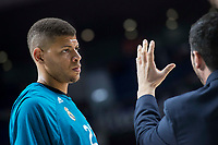 Real Madrid Walter Tavares during Turkish Airlines Euroleague match between Real Madrid and Baskonia Vitoria at Wizink Center in Madrid, Spain. January 17, 2018. (ALTERPHOTOS/Borja B.Hojas)