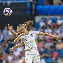June 27, 2019 - Le Havre, França - LE HAVRE, SM - 27.06.2019: NORWAY VS ENGLAND - Jill Scott of England during a match between England and Norway. World Cup Qualification Football. FIFA. Held at the Oceane Stadium in Le Havre, France  (Credit Image: © Richard Callis/Fotoarena via ZUMA Press)