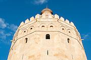 Torre del Oro in Sevilla (Spain)