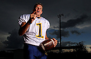 7/31/2003  CAPTION INFO:  Land O'Lakes High School quarterback Drew Weatherford (cq)  Times Photo by: Brendan Fitterer.
