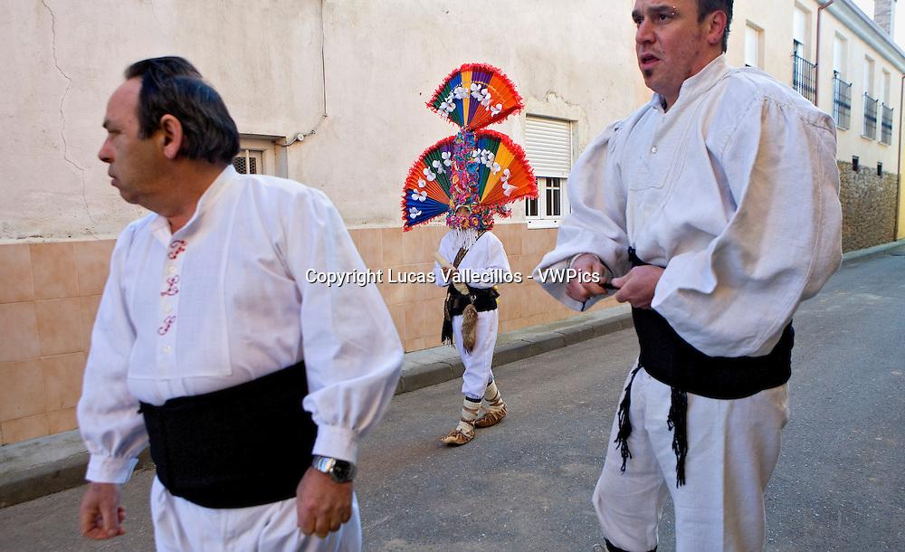 Antruejo (Carnival).Guirrios. Llamas de la Ribera. León. Castilla y León. Spain