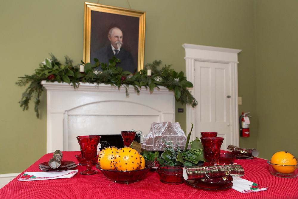 Children and adults love the White Home at Christmasville in Old Town.