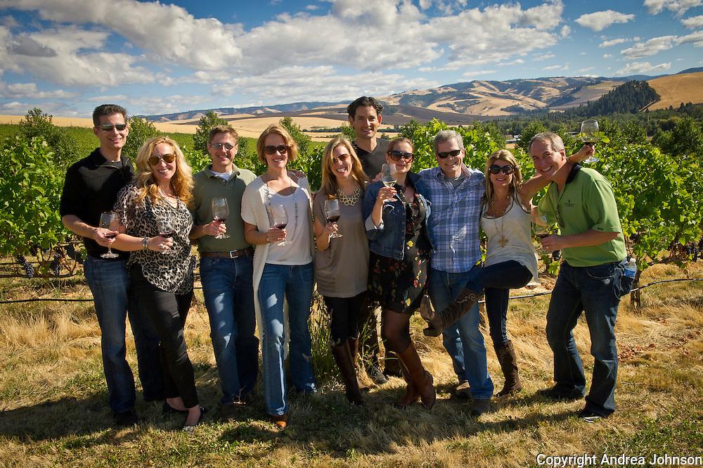 Figgins Family Wine Estates fall release party, Walla Walla, Washington