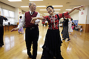 seniors recreational dance Japan