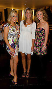 """Galway Girls ...Maeve Berry,  Newcastle, Ruth Thompkins, Claddagh and Kate O Callaghan Corcullen  at the Hotel Meyrick """"Bubbles & Delights"""" Fashion Soiree in aid of Childline ISPCC, where guests were treated to a race themed fashion showcase by Galway's leading boutiques & outlets"""". Photo:Andrew Downes"""