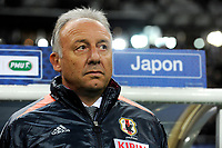 FOOTBALL - FRIENDLY GAME 2012 - FRANCE v JAPAN - STADE DE FRANCE ( SAINT DENIS ) FRANCE - 12/10/2012 - PHOTO JEAN MARIE HERVIO / REGAMEDIA / DPPI - ALBERTO ZACCHERONI (COACH JAPAN)