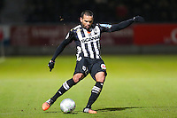 Gael ANGOULA  - 26.01.2015 - Angers / Brest - 21eme journee de Ligue 2 -<br /> Photo : Vincent Michel / Icon Sport
