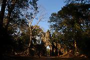 North Gate, Angkor Thom, Angkor Wat temples, Siem Reap, Cambodia