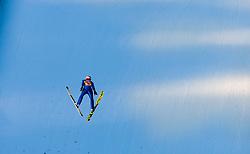 31.12.2017, Olympiaschanze, Garmisch Partenkirchen, GER, FIS Weltcup Ski Sprung, Vierschanzentournee, Garmisch Partenkirchen, Qualifikation, im Bild Richard Freitag (GER) // Richard Freitag of Germany during his Qualification Jump for the Four Hills Tournament of FIS Ski Jumping World Cup at the Olympiaschanze in Garmisch Partenkirchen, Germany on 2017/12/31. EXPA Pictures © 2018, PhotoCredit: EXPA/ JFK