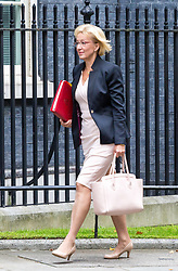 London, September 5th 2017. Leader of the House of Commons Andrea Leadsom attends the first UK cabinet meeting at Downing Street after the summer recess. ©Paul Davey
