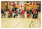 Boccia England International Competition. Wigan 26-6-11. After 11.30am