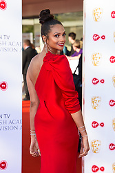Alesha Dixon attending the Virgin TV British Academy Television Awards 2018 held at the Royal Festival Hall, Southbank Centre, London.