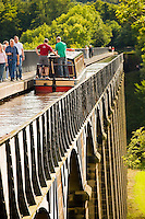 Canal boats &amp; passengers<br /> Pontcysyllte Aqueduct<br /> Llangollen Canal<br /> Canals<br /> Water<br /> Transport