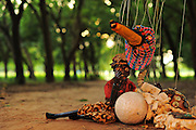 LOME, TOGO  - Zando and the magic egg. Zando is a pauper, and one day in the forest he comes across a bird which provides him a magic egg which gives him many riches and much wealth.  He has feasts, parties and gives people whatever they ask. One man asks for gold, another for possessions -- Zando is able to give them everything nonchalantly. One crafty man asks for the source of Zando's wealth -- and Zando gives him the egg. Immediately, all the wealth disappears along with the magic egg.  The moral: guard the source of your wealth.   Photo by Daniel Hayduk