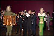 ELIZABETH COLE; JAMES COLE, Allen Jones private view. Royal Academy,  London. 11 November  2014.